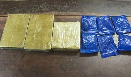 Bat doi tuong van chuyen 2,5 banh heroin - Anh 1