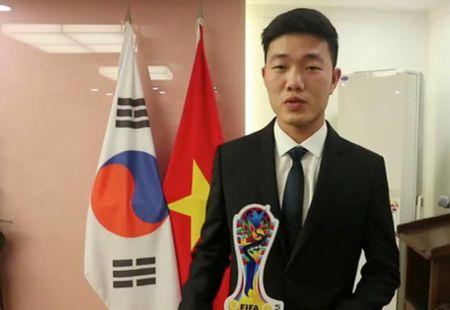 Xuan Truong duoc chon lam dai su cua Gangwon Han Quoc - Anh 1