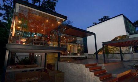 Sanchez House - Ngoi nha an minh trong khong gian rung nhiet doi xanh mat - Anh 4