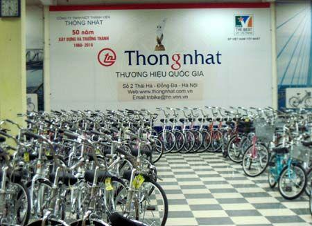 Xe dap Thong Nhat chuyen thanh cong ty co phan - Anh 1