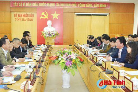 Doanh nghiep Dai Loan, Nhat Ban tim hieu co hoi dau vao Ha Tinh - Anh 1