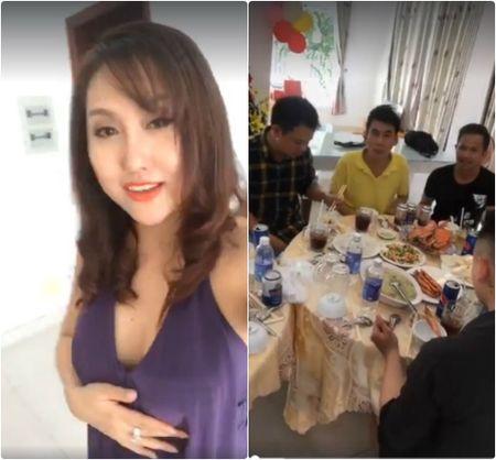 Phi Thanh Van quay clip sinh nhat con, 'choc tuc' Bao Duy? - Anh 1