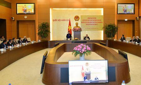 Thuong vu Quoc hoi va MTTQ Viet Nam se tang cuong phoi hop giam sat - Anh 1