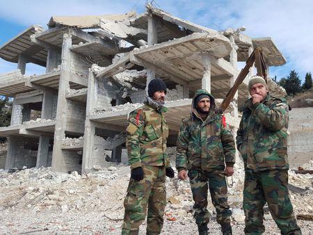 Quan doi Syria danh bat cuoc tan cong phien quan tai Latakia - Anh 1