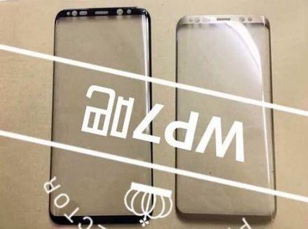 Mat truoc Galaxy S8 lo thiet ke vien sieu mong - Anh 1