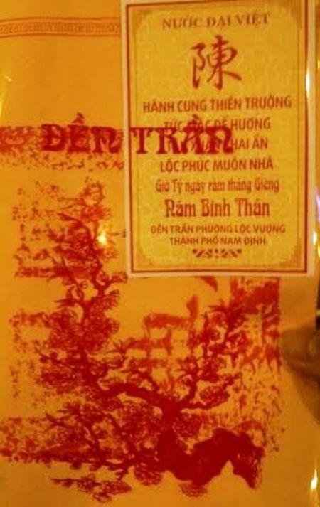 Nhung diem 'chua dep mat' cua le hoi Khai an Den Tran Nam Dinh nhung nam truoc - Anh 3