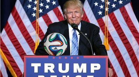 Lenh cam cua Donald Trump tac dong the nao den bong da? - Anh 1