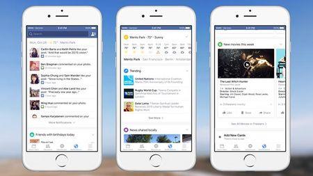 Facebook cho phep nguoi dung xem thoi tiet tren web va dien thoai - Anh 1