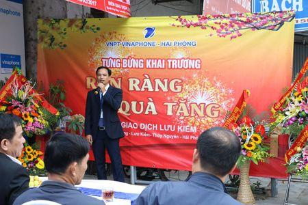 VNPT khai truong diem giao dich moi tai Thuy Nguyen, Hai Phong - Anh 1
