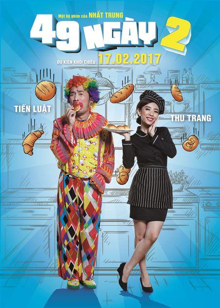 Hau truong '49 ngay 2': Tien Luat tat Thu Trang khong ay nay - Anh 1