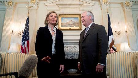 EU va My lan dau thao luan ve cac moi quan he voi Nga va Iran - Anh 1