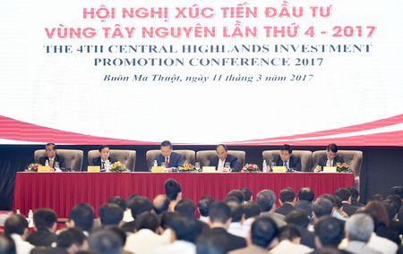 Thu tuong Nguyen Xuan Phuc du Hoi nghi xuc tien dau tu Tay Nguyen - Anh 2