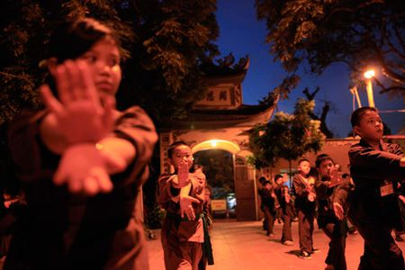 Vo duong Nam Thien Phat Mon Quyen: Lop vo noi cua Phat - Anh 3