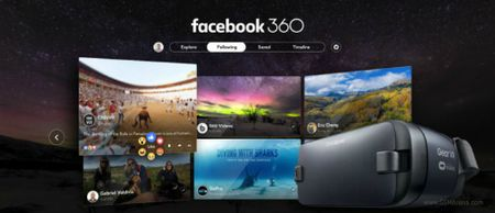Ung dung Facebook 360 do danh cho Samsung Gear VR da xuat hien - Anh 1