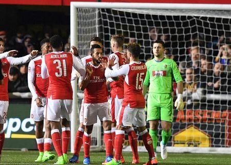 00h30 ngay 12/03, Arsenal vs Lincoln City: Phao thu trut gian - Anh 1