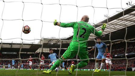 Da bai Middlesbrough, Man City tien buoc vao Ban ket FA Cup - Anh 1