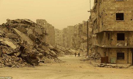Hinh anh bao cat tan cong thanh pho Aleppo - Anh 10