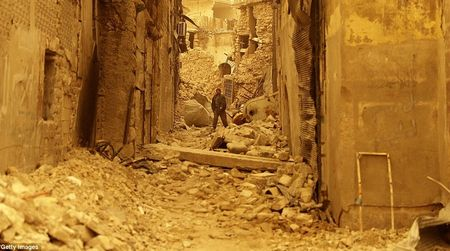 Hinh anh bao cat tan cong thanh pho Aleppo - Anh 11