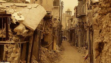 Hinh anh bao cat tan cong thanh pho Aleppo - Anh 12
