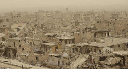 Hinh anh bao cat tan cong thanh pho Aleppo - Anh 2