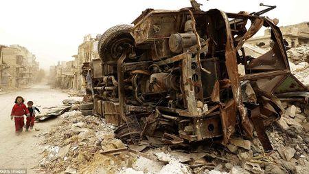 Hinh anh bao cat tan cong thanh pho Aleppo - Anh 5