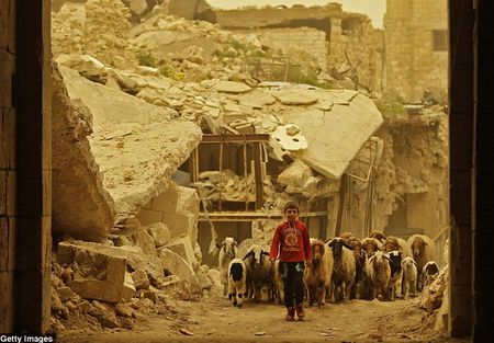 Hinh anh bao cat tan cong thanh pho Aleppo - Anh 7