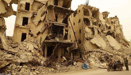 Hinh anh bao cat tan cong thanh pho Aleppo - Anh 9