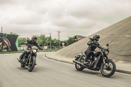 Moto Harley-Davidson Street Rod 750 moi 'chot gia' 198 trieu - Anh 2