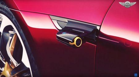 Xe Mercedes-AMG GT khong duoc trang bi he thong guong chieu hau? - Anh 3