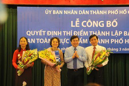 TP.HCM: Chinh thuc thanh lap Ban Quan ly An toan thuc pham - Anh 1