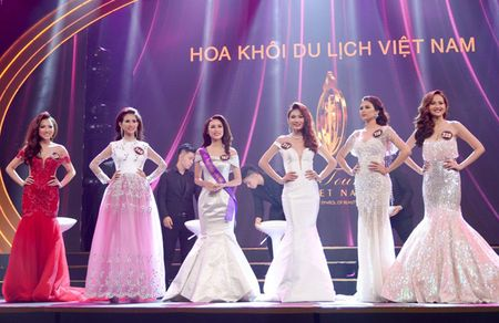 Khanh Ngan dang quang Hoa khoi Du lich Viet Nam - Anh 4