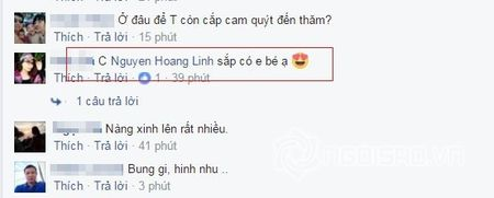 Nghi van MC Hoang Linh cua 'Chung toi la chien sy' co bau voi ban trai? - Anh 2