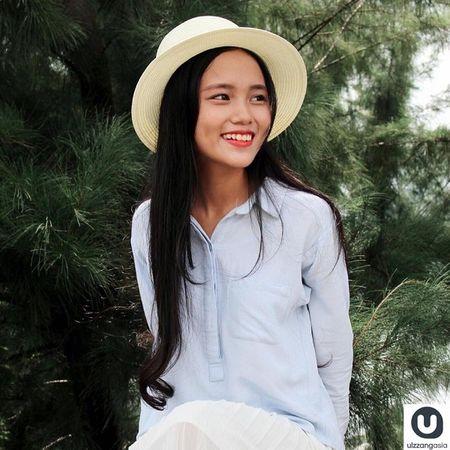 Nu sinh Bach khoa Da Nang 'gay nao loan' tren trang Ulzzang Asia - Anh 1