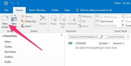 Huong dan xoa dia chi email khoi goi y tu dong tren Outlook - Anh 2