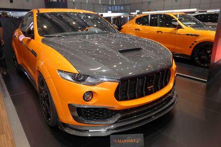 Maserati Levante ban do widebody dau tien the gioi tu Mansory - Anh 1