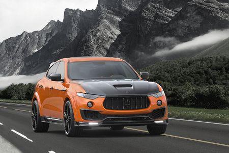 Maserati Levante ban do widebody dau tien the gioi tu Mansory - Anh 2