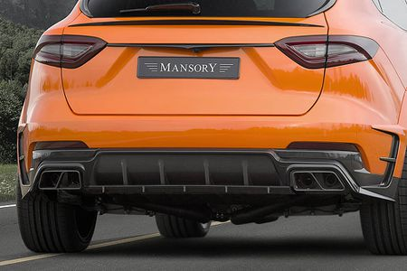 Maserati Levante ban do widebody dau tien the gioi tu Mansory - Anh 6