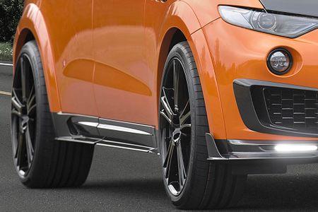 Maserati Levante ban do widebody dau tien the gioi tu Mansory - Anh 8