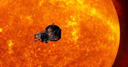 NASA phong tau vu tru kham pha bi an Mat Troi nam 2018 - Anh 1