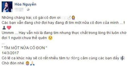 Hoa Minzy muon 'noi lai tinh xua' voi Cong Phuong? - Anh 1