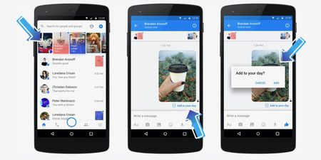 Facebook ra mat tinh nang Messenger Day gan giong Snapchat Stories - Anh 1