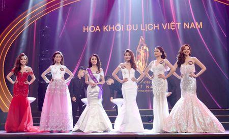 Khanh Ngan The Face dang quang Hoa khoi Du lich Viet Nam - Anh 4