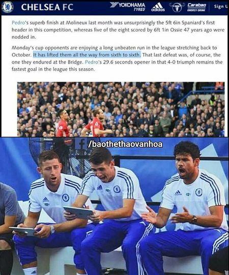 Trang chu Chelsea treu tuc Man United truoc cuoc doi dau o FA Cup - Anh 1