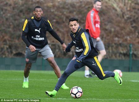 Chum anh: Sanchez cau co tren san tap Arsenal truoc tran tu ket FA Cup - Anh 2