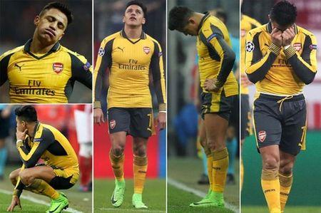 Chum anh: Sanchez cau co tren san tap Arsenal truoc tran tu ket FA Cup - Anh 4