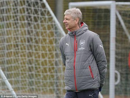 Chum anh: Sanchez cau co tren san tap Arsenal truoc tran tu ket FA Cup - Anh 6