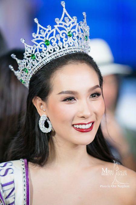 Nguoi dep Thai Lan len ngoi Hoa hau chuyen gioi quoc te - Anh 4