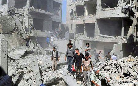 Danh bom lien hoan o Syria lam 40 nguoi chet - Anh 1