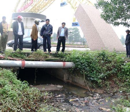 Quang Tri: Dan keu troi vi o nhiem moi truong tai Khu Cong nghiep - Anh 3