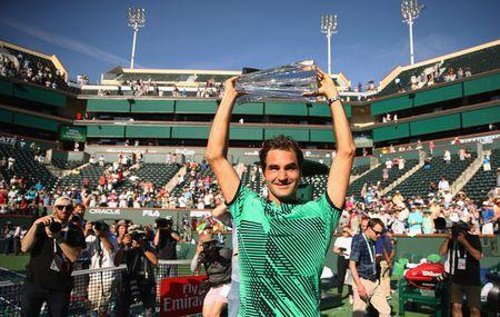 Federer lan thu 5 dang quang Indian Wells - Anh 1